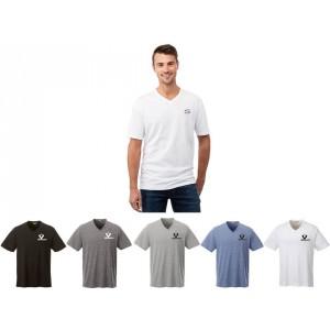 T-shirts col en V pour hommes