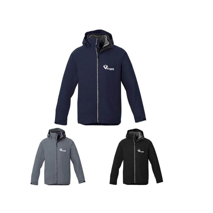 Manteau d'hiver 3 en 1 pour homme
