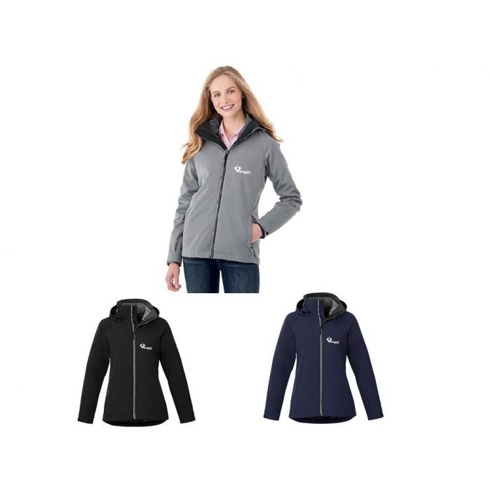 Manteau d'hiver 3 en 1 pour femme