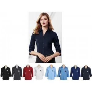 Chemise à manches 3/4 pour femmes