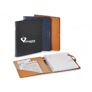 Journal en cuir rechargeable