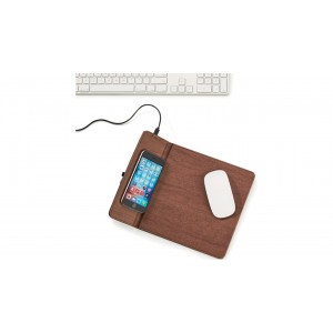 Tapis a souris a recharge sans fil